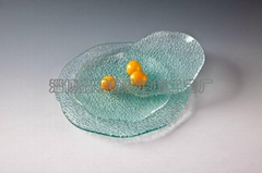 Tempered glass tableware: Diamond Series