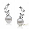 925 Silver Fashion Pearl Earring