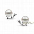 925 Silver Freshwater Pearl Earring