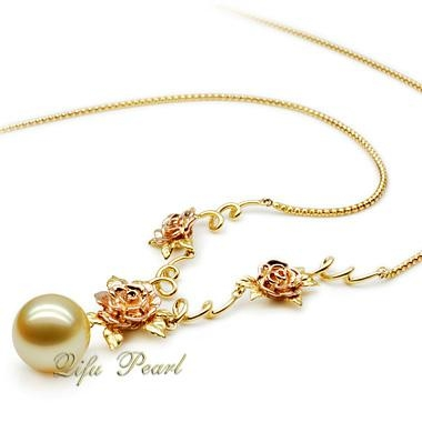Hotsale Fashion Southsea Pearl Necklace 3
