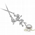 925 Silver Freshwater Pearl Necklace 2