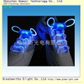 light up LED shoelace blue