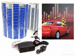 car audio voice rhythm lights equalizer car sticker wholesales