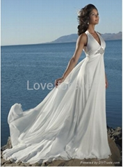 2010 new wedding dress