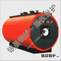 卧式燃油(燃气)承压热水锅炉