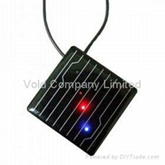 Solar Panel Necklace MP3 Player Solar MP3