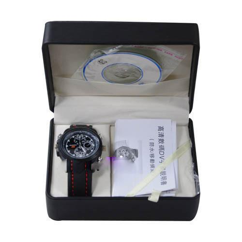 4GB waterproof and Motion Detection Spy Watch Hidden Camera Mini DVR 5