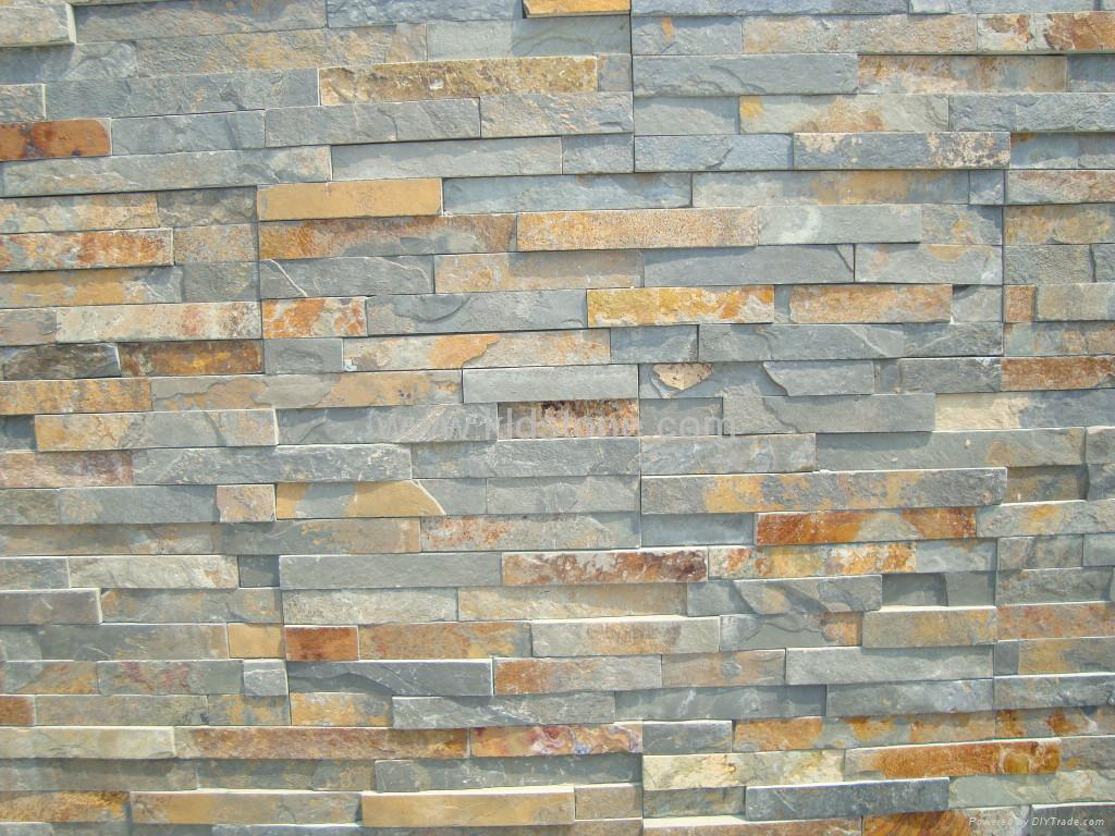 Stone Wall Panels : Ledgestone wall slate joy studio design gallery best