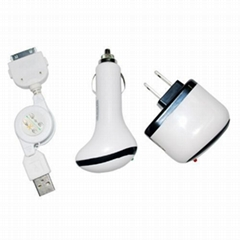 3 in 1 Charger for IPhone 3G