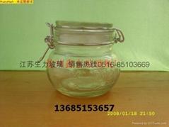 玻璃罐玻璃盖