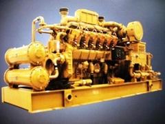 30-1500KW氣機發動及發電機組