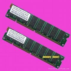 SDRAM 2x256MB PC133 Desktop Low density RAM