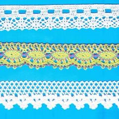 棉线花边带