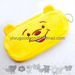 plush animal pen pouch pen bag