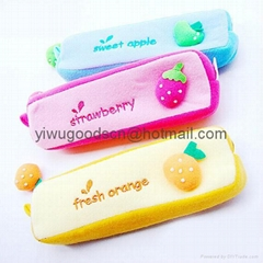plush pencil box pen box
