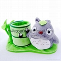 plush Totoro pen holder stationary