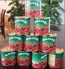 canned tomato paste 28-30%