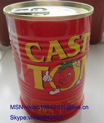 canned tomat paste on hot sale 400G -1