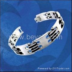 stainless steel jewelry; titanium bracelets
