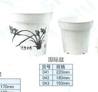 塑花盆 1