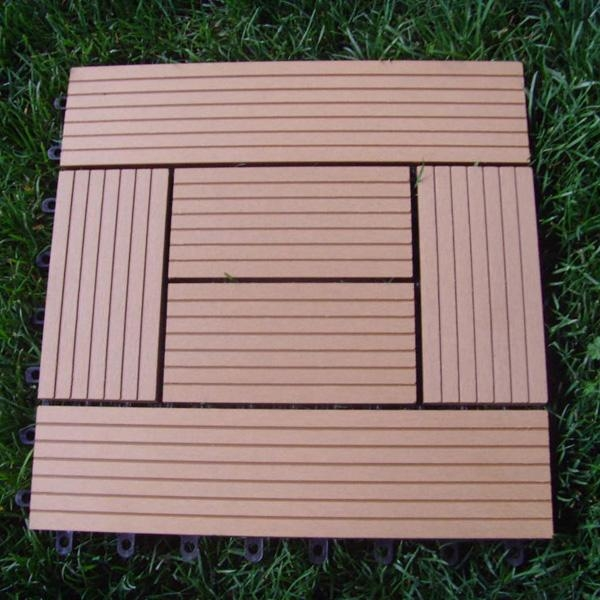 Wood Plastic Composite Decking : Composite deck black decking material
