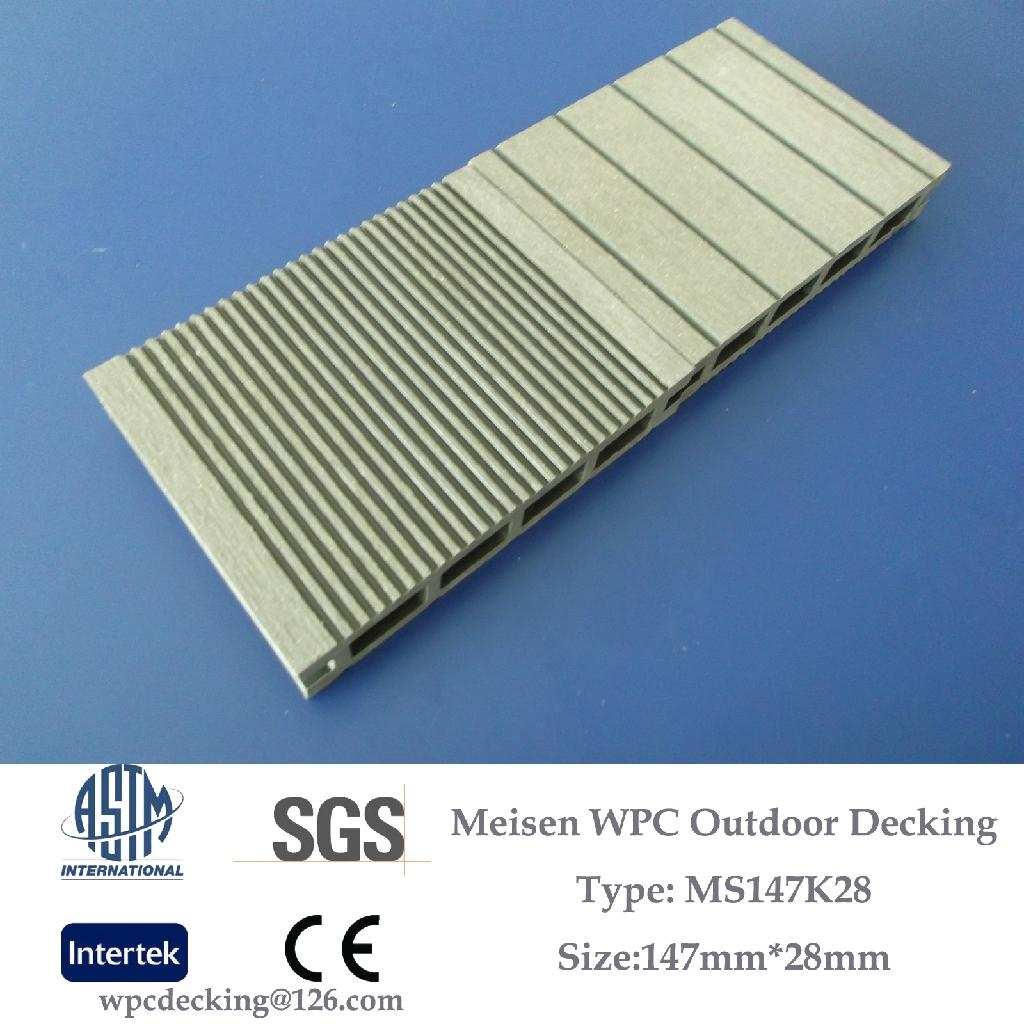 Floor Covering Materials ~ Man made wpc outdoor deck floor covering timber ms k
