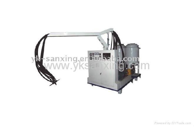 foam spraying machine