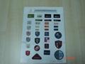 badge woven label  1