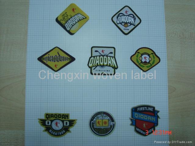 badge woven label  3