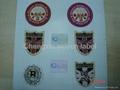 badge woven label  4