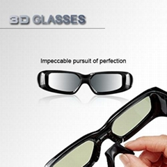 3D Universal active tv glasses