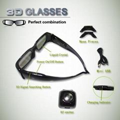 3d shutter glasses for Sony