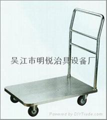 吳江不鏽鋼手推車