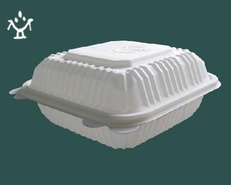 一次性玉米澱粉可降解餐盒 1