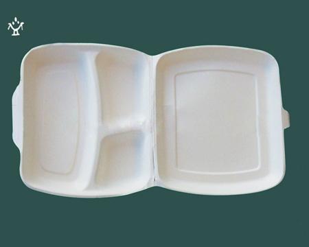 一次性玉米澱粉可降解餐盒 2