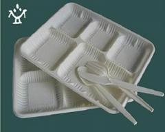 一次性可降解玉米澱粉餐盒