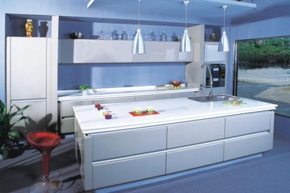 Paint on MDF kitchen cabinet - APT-001 - Ared (China Manufacturer ...
