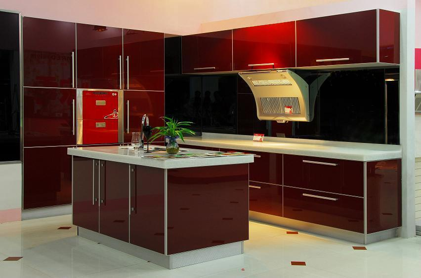 UV on MDF kitchen cabinet - Ared (China Manufacturer