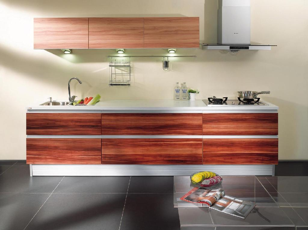 Melamine Board Kitchen Cabinet Am 001 Ared China