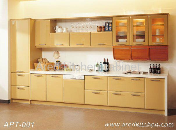lacquer kitchen cabinet apt 005 ared china