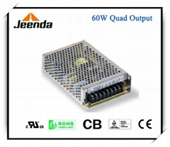 Quad Output Switching Power Supply