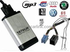 Digital CD Changer for VW Audi Skoda Seat 8-Pin ISO