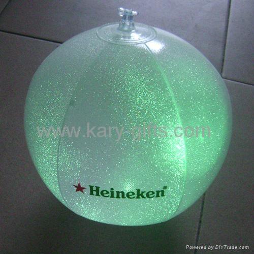 LED PVC Beach Ball 2