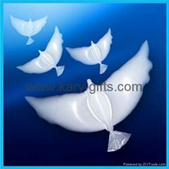Biodegradable Bio Dove Balloons