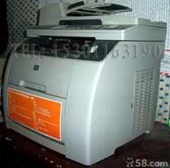二手彩色一体机 惠普2820激光打印机