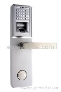 Anti-damage fingerprint and combination lock HF-LA801 1