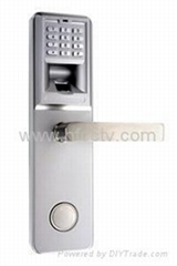 Anti-damage fingerprint and combination lock HF-LA801