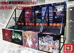 投币篮球机NBA系列篮球机中国电玩游戏机生产