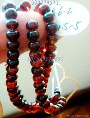 玳瑁佛珠链[直径6.2毫米]