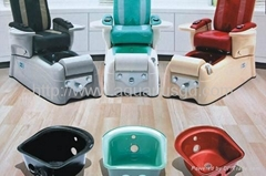 Glass Sink for Pedicure Chair AQ5003